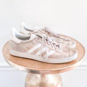 Adidas Gazelle Suede Pink Nude Sneakers
